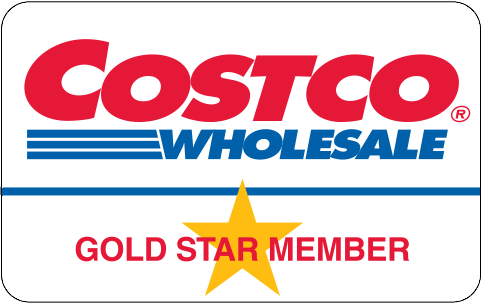 Costco gold star membership card